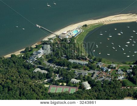 Cape Cod Hotel And Resort Aerial