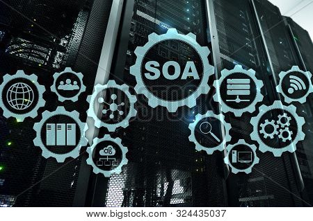 Soa. Architecture Under Principle Of Service Encapsulation. Datacenter Background.