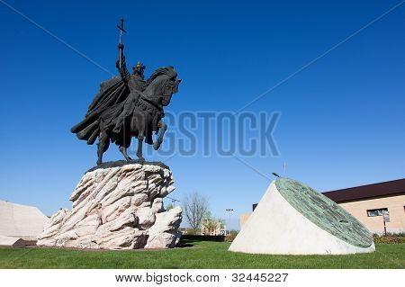 Statue Of Alfonso Vi