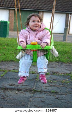 Girl On Swing 2