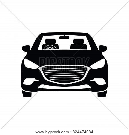 Car Icon Isolated On White Background. Car Icon In Trendy Design Style. Car Icon Image. Car Vector I
