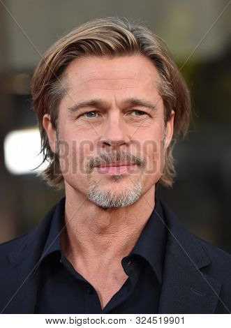LOS ANGELES - SEP 18:  Brad Pitt arrives for 'Ad Astra' Special Screening on September 18, 2019 in Hollywood, CA