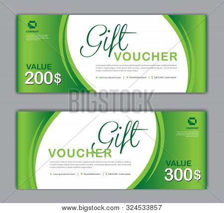 Gift Voucher Template, Sale Banner, Discount Cards, Coupon Template, Gift Certificate, Headers, Webs