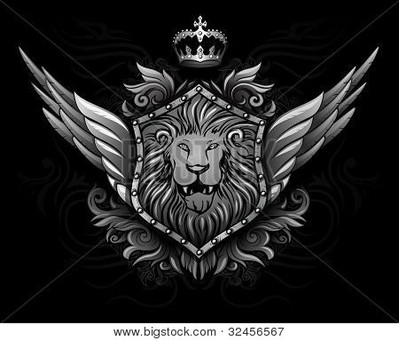 Winged Lion Insignia 2