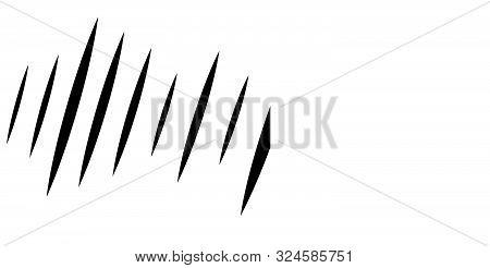 Wide Format Dynamic Action Lines. Random Parallel Vertical Stripes. Straight Streaks, Strips Design.