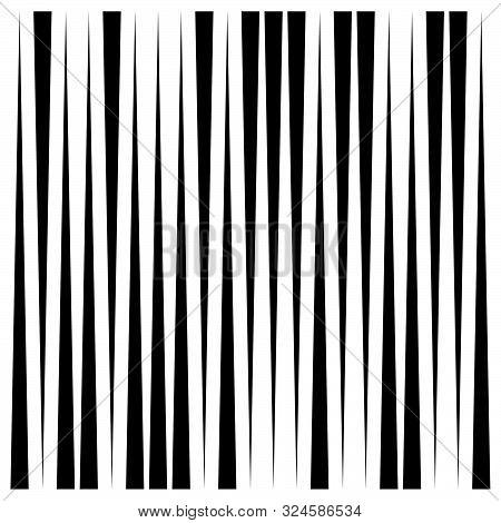 Random, Dynamic Lines Pattern. Vertical, Straight Parallel Lines. Irregular Stripes. Streaks, Strips