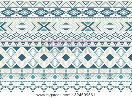 Gypsy Pattern Tribal Ethnic Motifs Geometric Seamless Background. Modern Gypsy Tribal Motifs Clothin