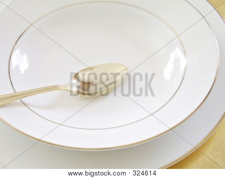 Bowl Plate And Spoon 2