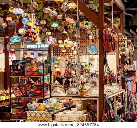 Brisbane, Queensland, Australia: 24th September 2019: Small Shop Filled With Quaint Items For Sale A