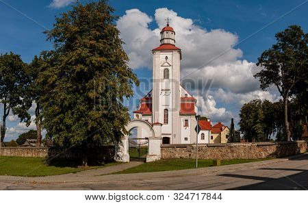 Church Of Saint Lawrence In Videniskiai, Moletai District, Lithuania