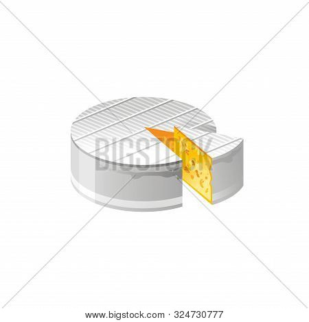 Vector Illustration Eps10, Isolated On White Background. Realistic Food And Drink Symbol, 3d Soft Fr