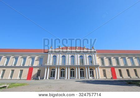 Charlottenburg Palace Historical Building In Berlin Germany