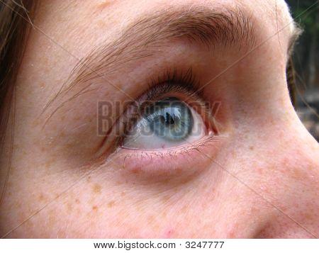 Girl Blue Eye