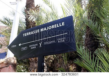 Terrasse Majorelle