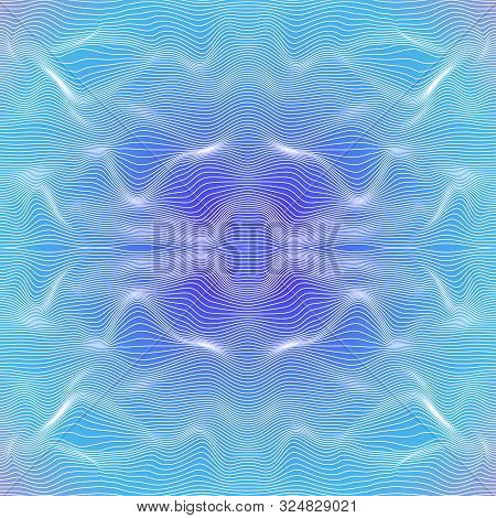 Seamless Multi-colored Vector Background. An Abstract Prerequisite Of A Surface With Optical Illusio