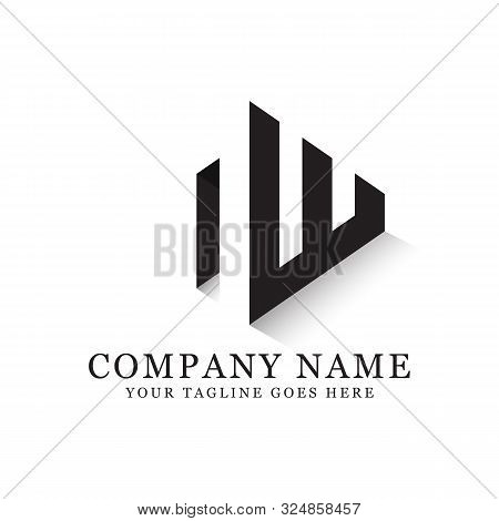 Nw Initial Logo Inspiration, Clean And Clever Logo Designs, Letter N Logo Template