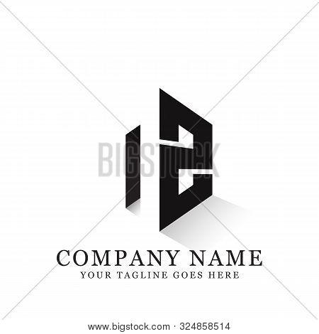Nz Initial Logo Inspiration, Clean And Clever Logo Designs, Letter N Logo Template