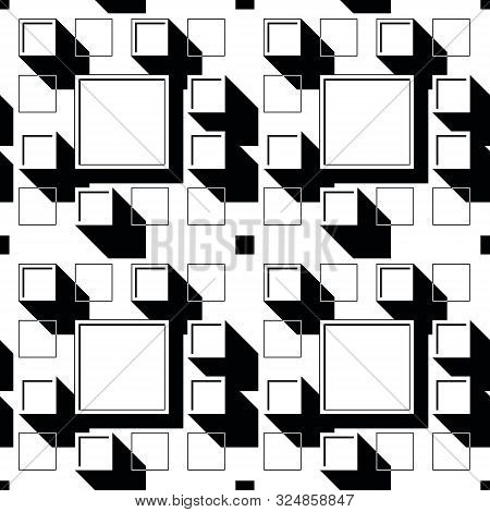 Urban Pattern, Quarter, Top View, City Master Plan, Structure, Geometry, Square, Black And White Pat
