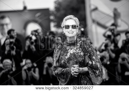 Meryl Streep walks the red carpet ahead of the
