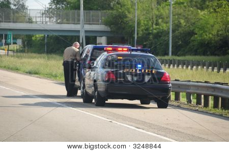 Police Vehicle Traffic Ticket
