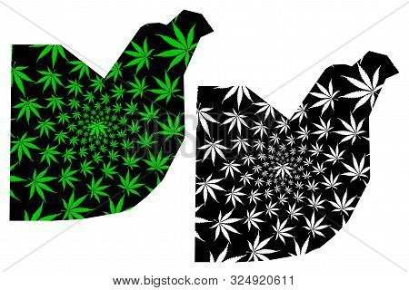 Federal Capital Territory (subdivisions Of Nigeria, Federated State, Fct) Map Is Designed Cannabis L