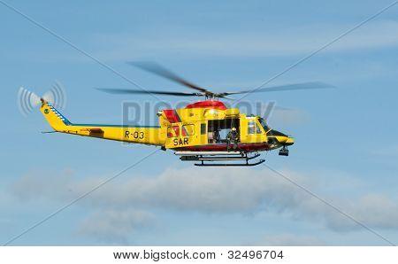 Agusta AB-412 SP SAR Helicopter
