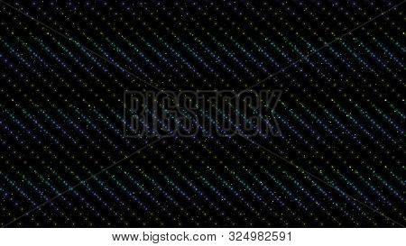 Background Of Multi-colored Circles. Abstract Background Pattern.