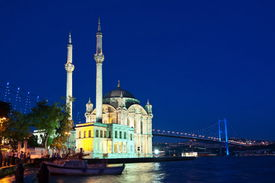 Night at Ortakoy Istanbul