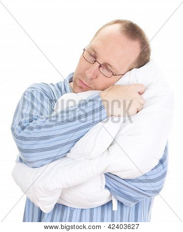 Business Person Sleeping Very Good