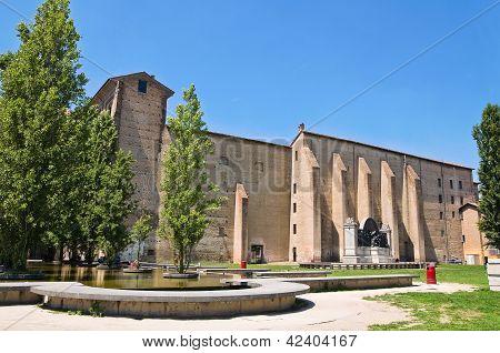 Palace of Pilotta. Parma. Emilia-Romagna. Italy.