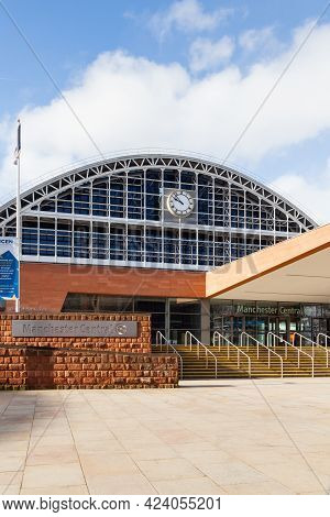 Manchester, England - March 17:  Manchester Central Convention Complex Pictured On March 17, 2018.