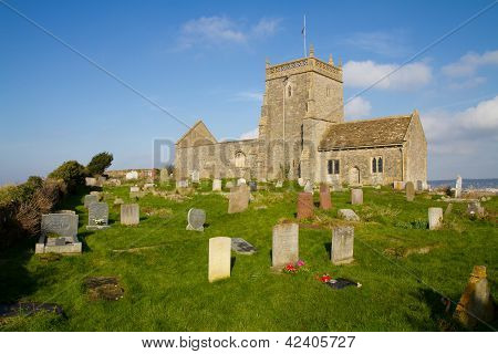 English Norman church