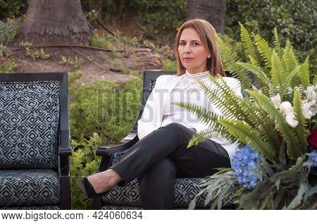 Herzliya, Israel. June 10, 2021. Gila Gamliel, Israeli Right Wing Politician From The Likud Politica