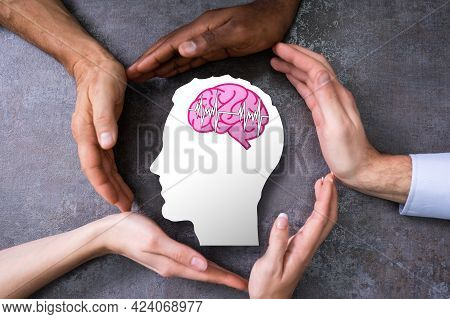 Human Brain Stroke Diagnosis And Therapy. Human Neurology