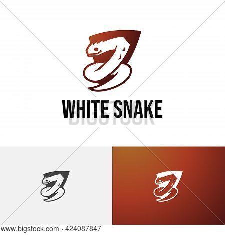 Venomous Poisonous Snake Serpent Dangerous Wild Animal Logo 02