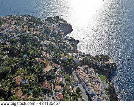 Aerial View Of La Herradura In Andalucia, Spain