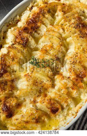 Homemade Creamy Scalloped Potatoes