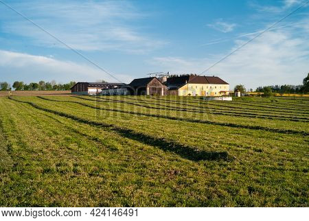 Vierkanter Farmhouse In The Mostviertel Or Must Quarter Region Of Lower Austria Near Amstetten