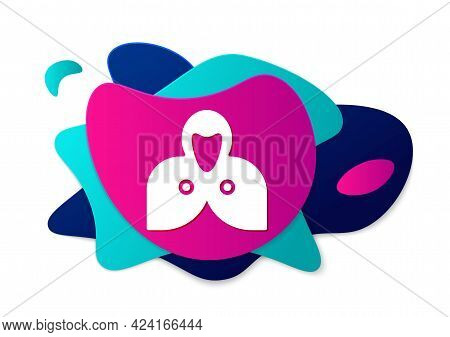 Color Mantle, Cloak, Cape Icon Isolated On White Background. Magic Cloak Of Mage, Wizard And Witch F