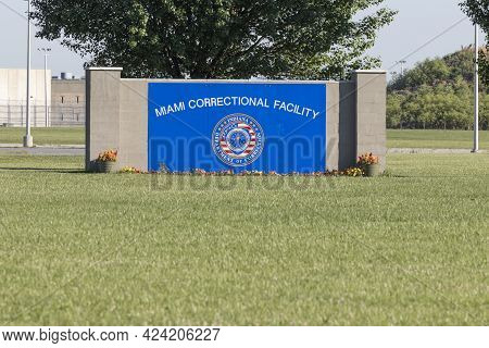 Bunker Hill - Circa June 2021: Miami Correctional Facility On The Site Of Grissom Joint Air Reserve