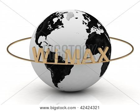 Gold Wimax And Gold Ring