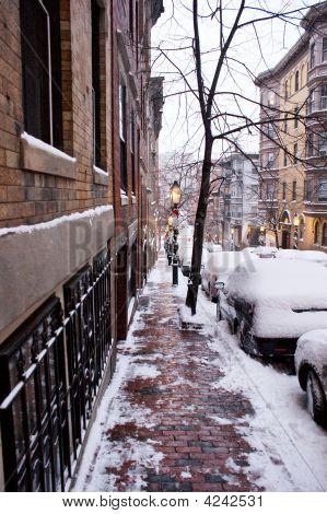 Beacon Hill Snow