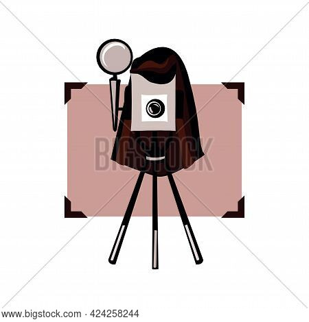 Photography Icon Digital Camera Illustration Of Photo And Picture Sign And Symbol In Eps10