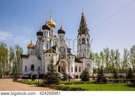 Church Of St. Alexander Nevsky In The Village Of Knyazhye Ozero (prince Lake), Moscow Region, Russia
