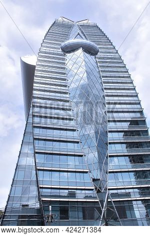 Bangkok, Thailand - June 20, 2014: Okura Prestige Hotel. It Is Located At The Intersection Of Wirele