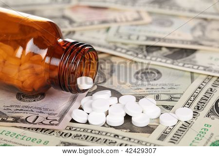 High Cost Of Medicine (dollar)