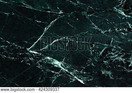 Stylish Imperial Green - Marble Background, Texture In Modern Color For Your New Expensive Interior