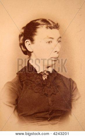 Antique, Photograph, Woman, Vintage