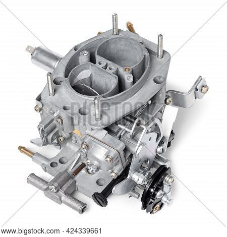 Car Carburetor For Internal Combustion Engine For Mixing Air With A Fine Spray Of Liquid Fuel, Isola