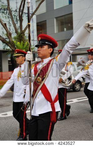 Band Drum Major